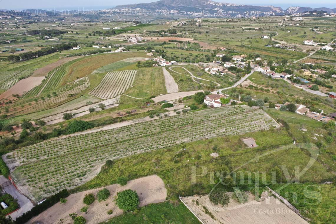 - 0220G - Flat plot in Benimarco, Teulada with sea views to build a Finca 5