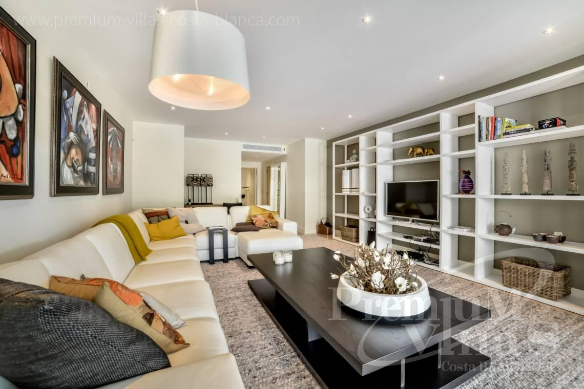Luxury apartment in residential Mascarat Beach Altea Costa Blanca - A0606 - Seafront apartment in residential Mascarat Beach 8