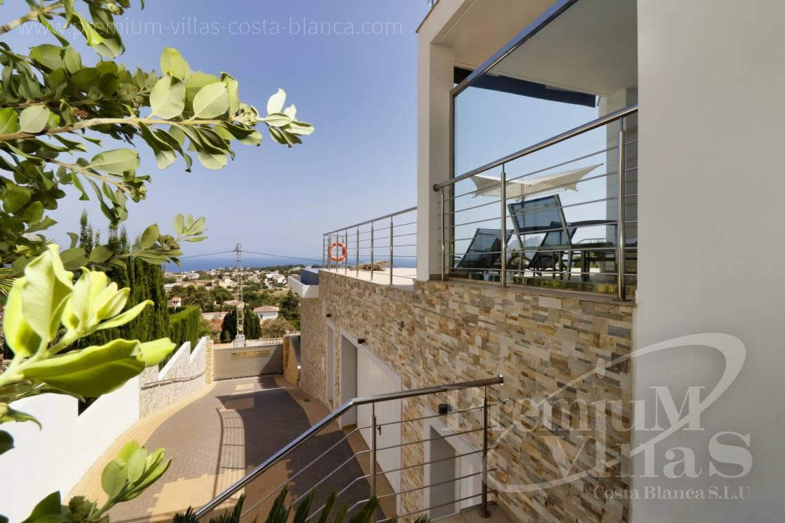 Buy villas houses sea view Calpe Costa Blanca - C1784 - Modern villa with a lift and great sea views in Calpe 27