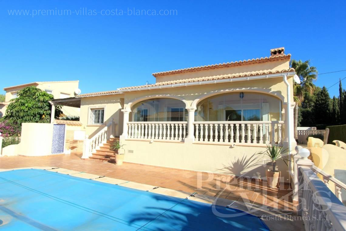 Mediterranean villa with private pool in Calpe Costablanca - C2001 - Mediterranean villa built on one floor with sea view 4