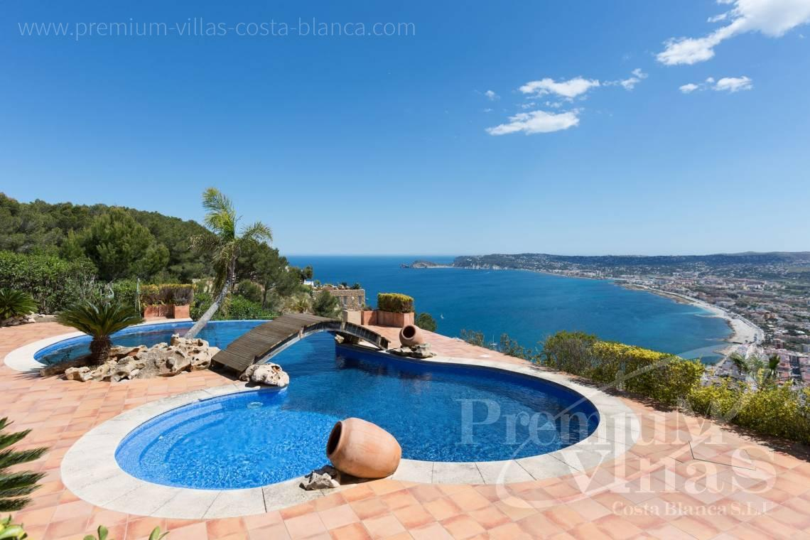 buy villa house Costa Blanca Spain - C2196 - Javea: Wonderful villa in a privileged location with unbeatable sea views 2