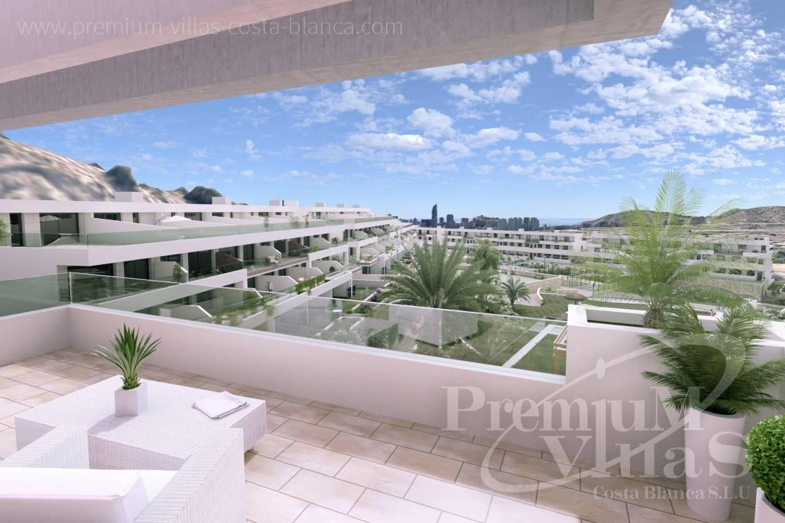 Sea view apartments for sale in Finestrat Spain - A0622 - 2 bedrooms apartments with sea views in Finestrat 3