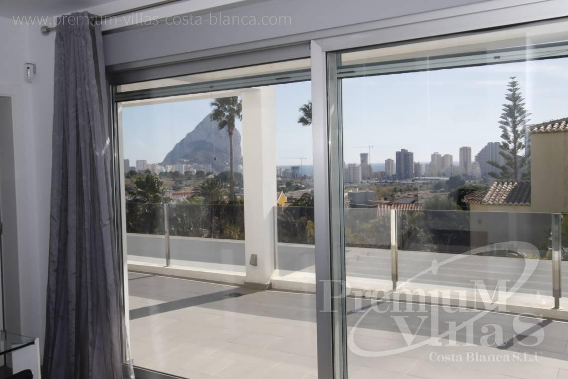 Buy a modern villa close to the centre of Calpe  - C2130 - Modern villa for sale next to the town Calpe 12