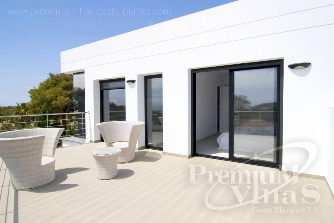 Modern villas in Benissa Costablanca - C2002 - Modern villa for sale near the sea 5