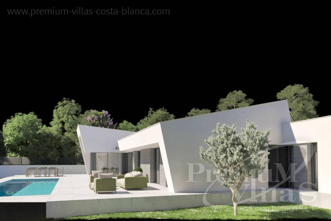 - C2441 - Modern new construction villa on one level in Calpe 2