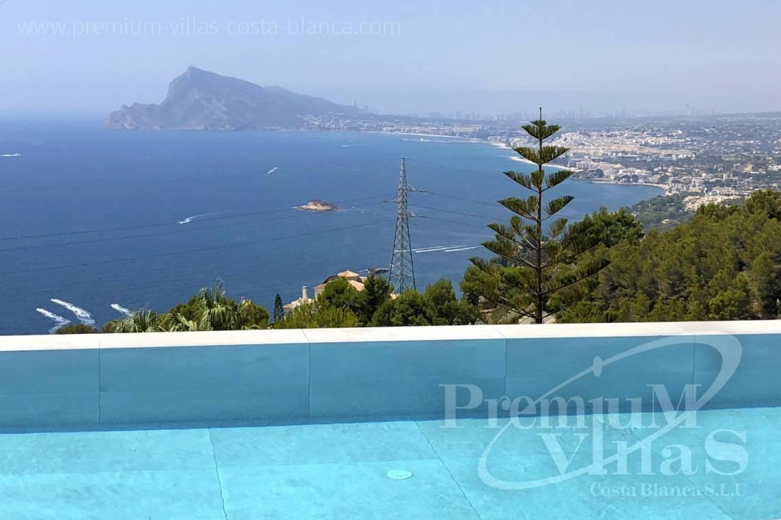 house villa for sale Altea Costa Blanca Spain - C1915 - Brand new luxury villa in Altea Hills with fantastic sea views! 2