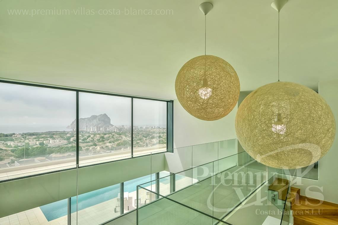 Buy a modern 4 bedroom villa in Gran Sol Calpe - C2080 - Modern villa for sale with spectacular sea views in Calpe 6