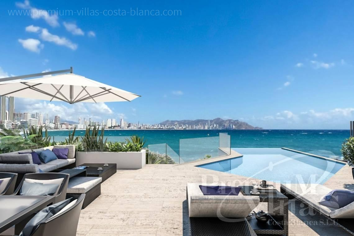 buy property Costa Blanca Spain - A0599 - Luxury apartments and duplex in privileged area of Benidorm at the seafront. 1