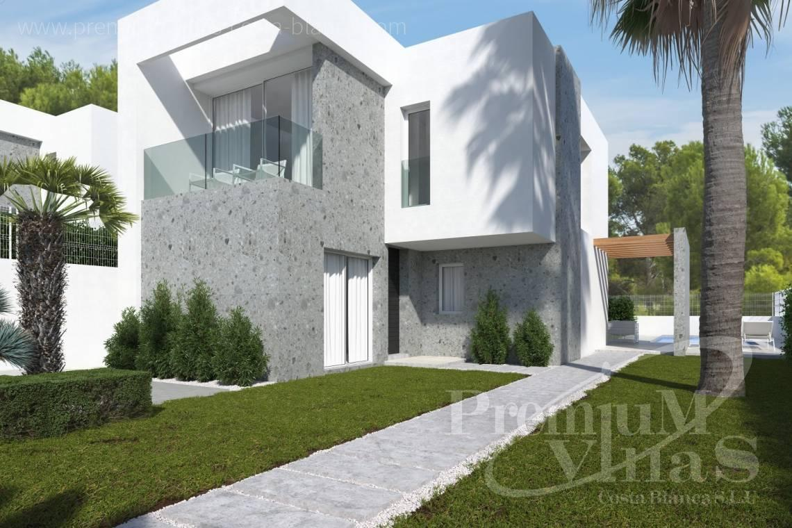 Buy a villa in Finestrat Costa Blanca - C2349 - New construction semi detached houses in Finestrat 2