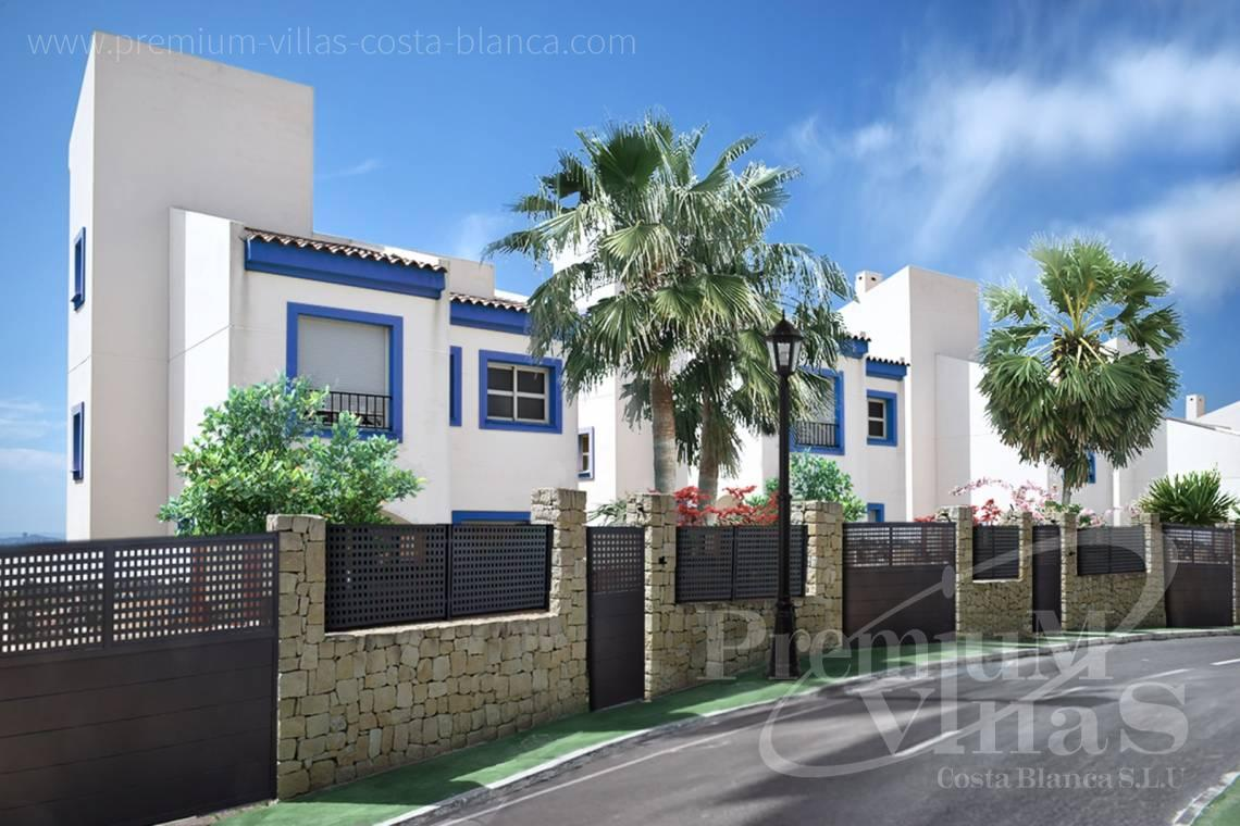 Buy house villa property Altea Hills Costa Blanca - C2189 - Single family homes in Altea Hills with stunning sea views 4