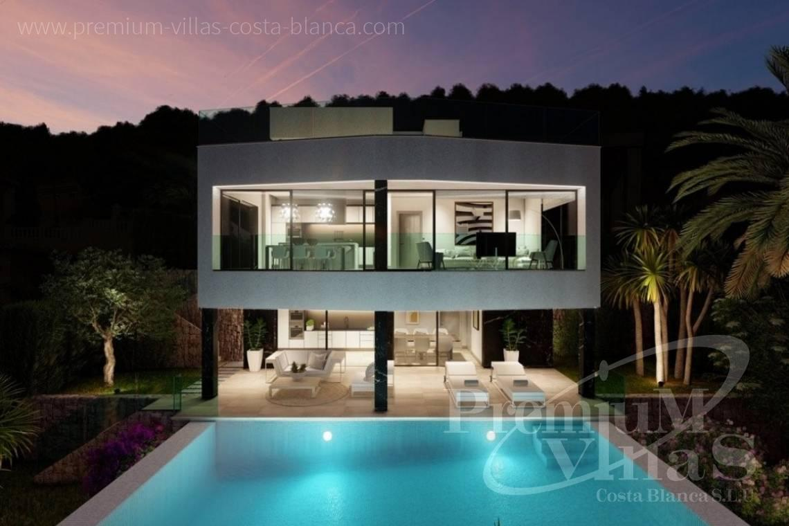 Luxury Villa with Lift for Sale in Calpe Costa Blanca - C2390 - Modern villa with elevator and sea views in Calpe 5