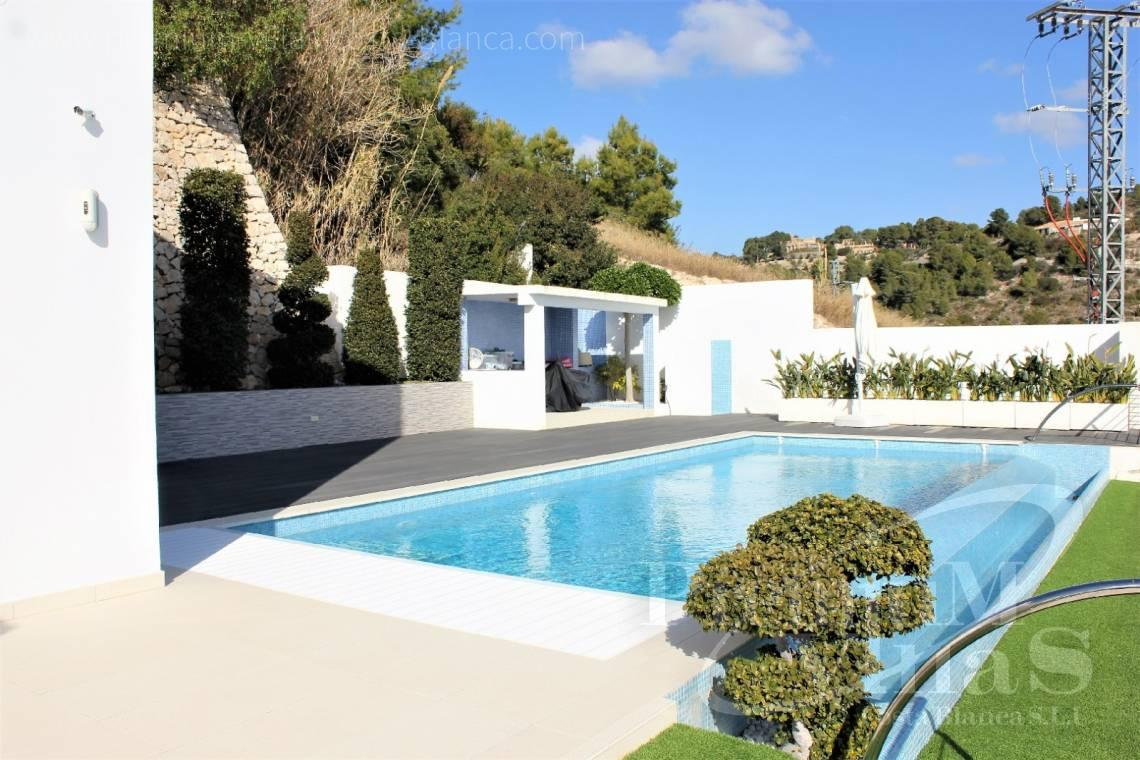 Villa house for sale in Benissa - C2142 - Modern villa with fabulous views and heated pool 2