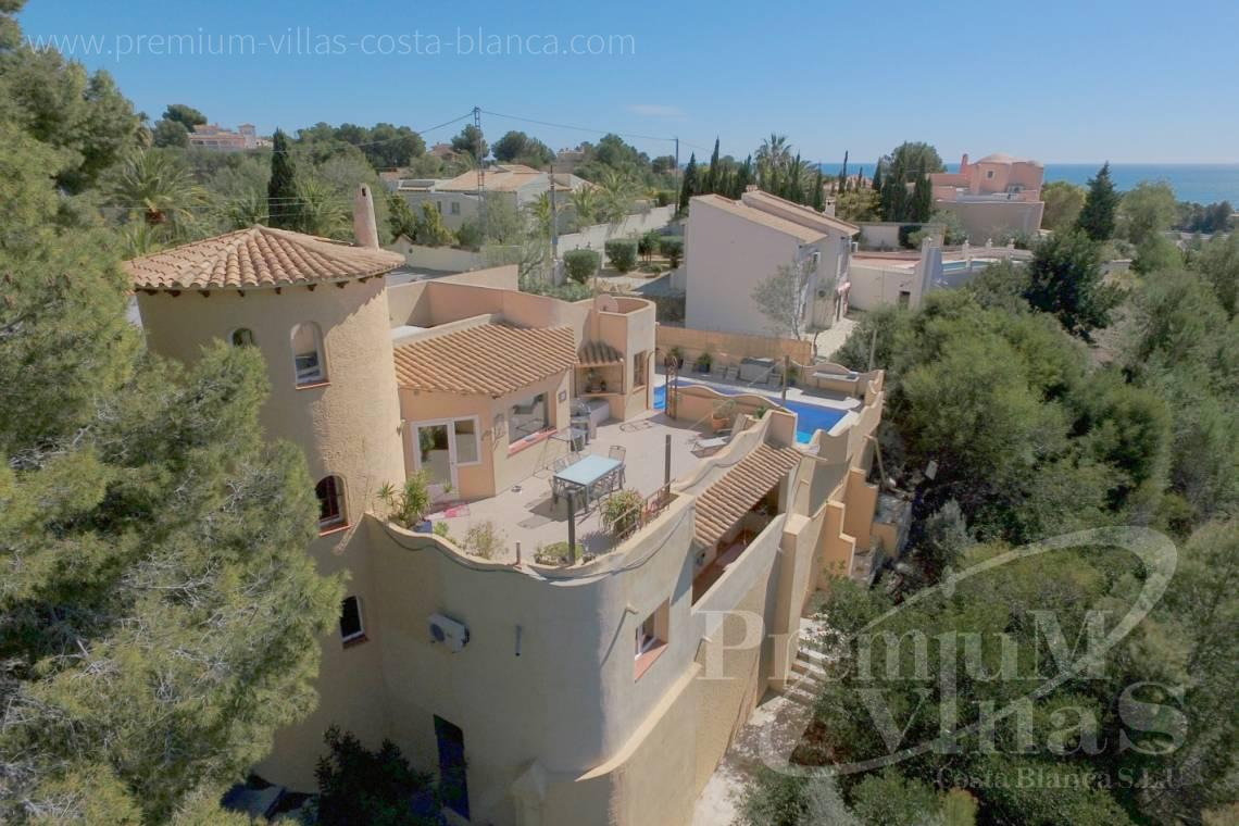 Villas near the golf club in Altea Costablanca - C2052 - Mediterranean villa for sale with modern interior 2