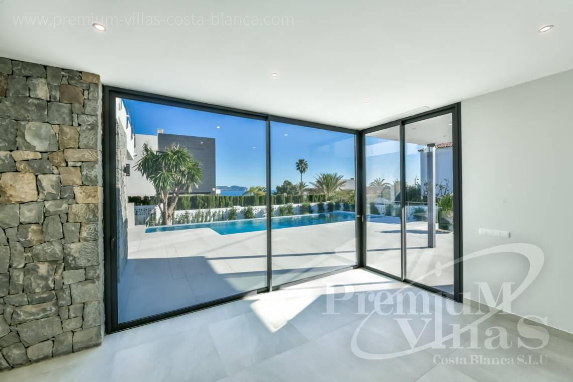 Modern villa with sea views for sale in Calaga Calpe - C2368 - Modern villa with sea views in Calpe 6