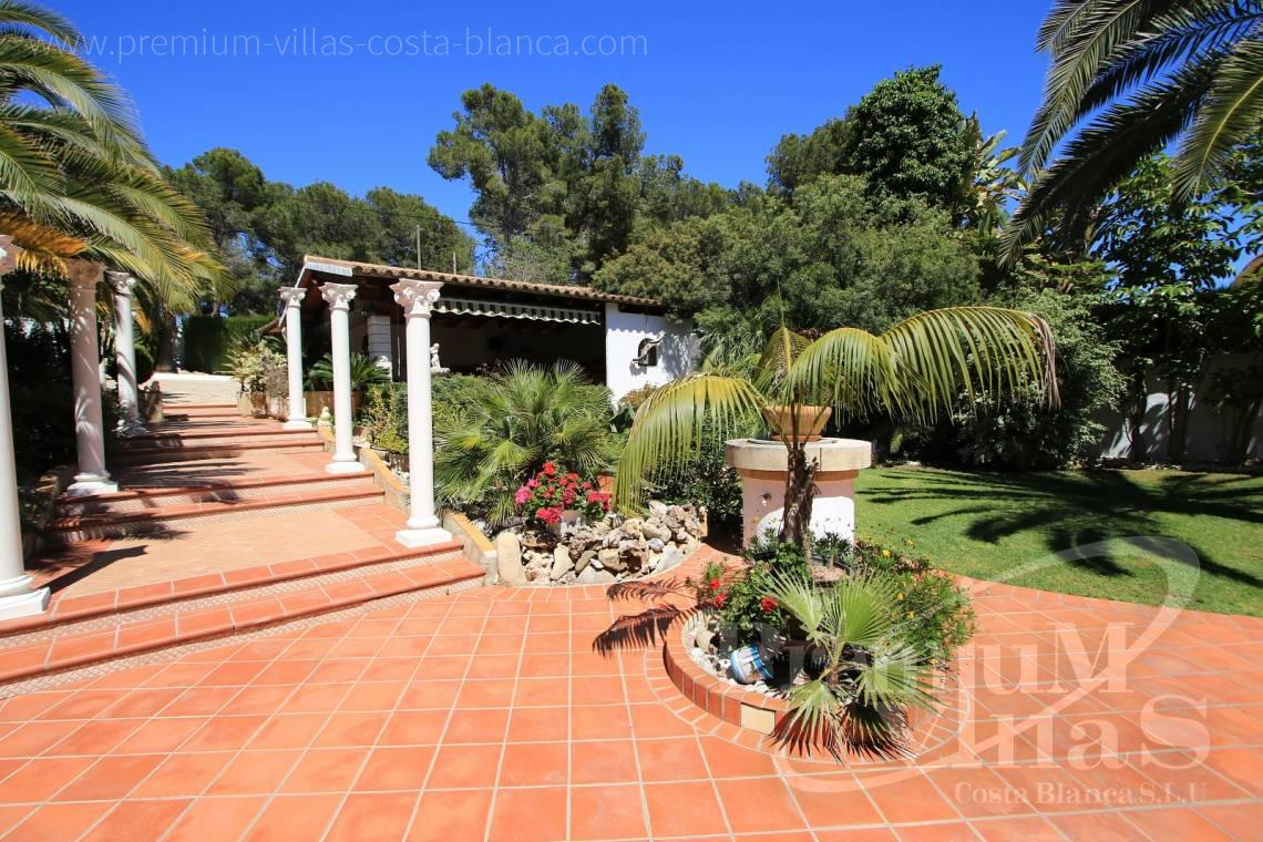 - C2151 - A real paradise on a double plot only 900m from the sea in Benissa 15