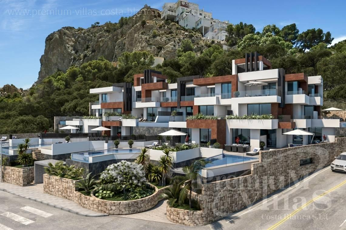 buy 3 bedrooms apartment  Benidorm Costa Blanca Spain - A0599 - Luxury apartments and duplex in privileged area of Benidorm at the seafront. 3