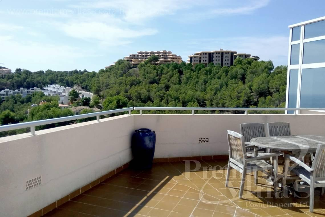 property for sale with large terrace Altea Hills - A0523 - Luxury penthouse in Altea Hills with stunning sea views 23