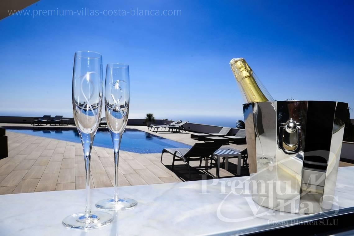 Buy modern villa with sea views in Altea Costa Blanca - C2316 - Modern luxury villa with sea views in Altea 30