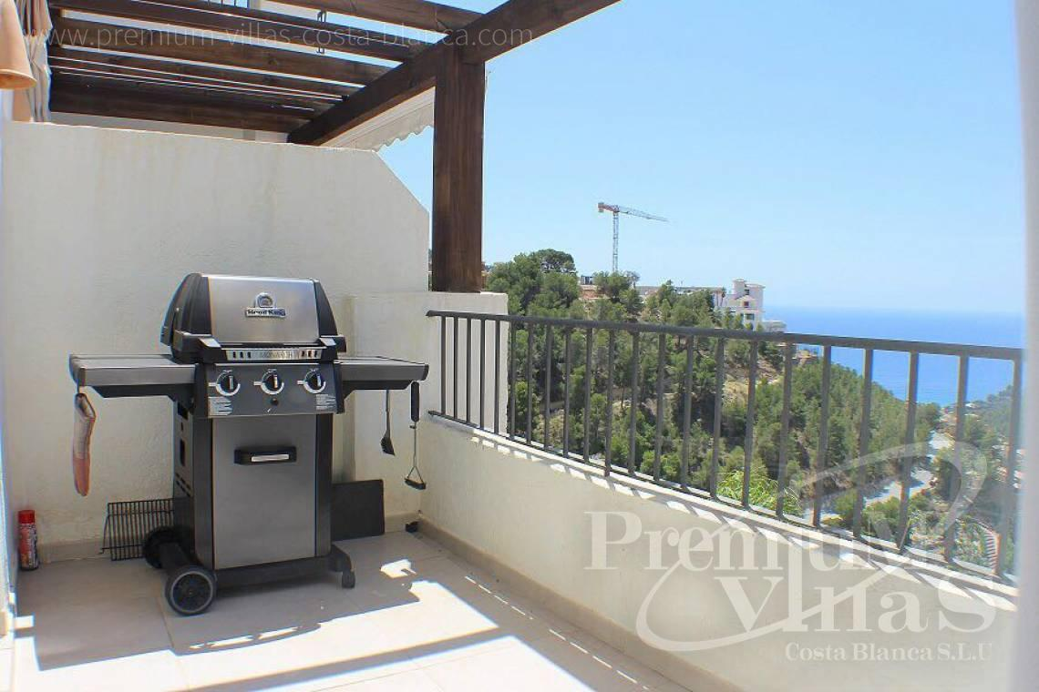 Penthouse apartment sea views Altea Costablanca - A0577 - Modern apartment for sale in Altea Hills 19