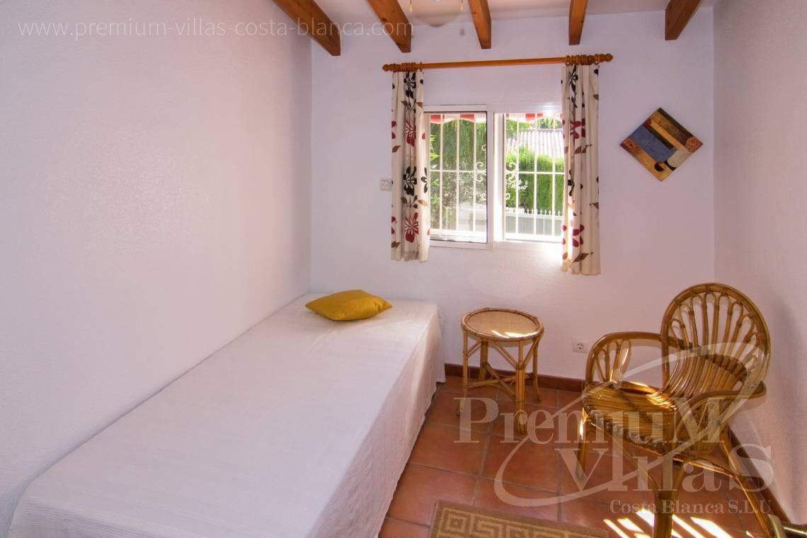 - C2129 - Privately located villa with sea view and beautiful garden in Altea 18