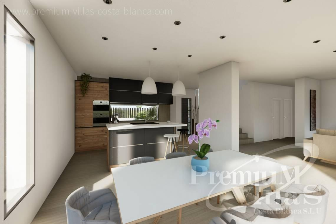 - C2312 - Modern 4 bedroom villa near the beach in Calpe 13