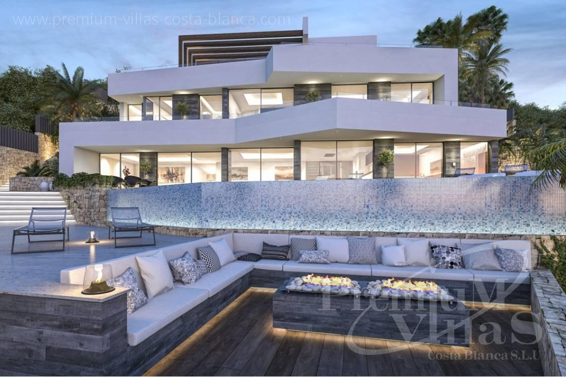 modern villas for sale Benissa Costa Blanca Spain - C2000 - Modern luxury villa in Benissa for sale with stunning sea view 5