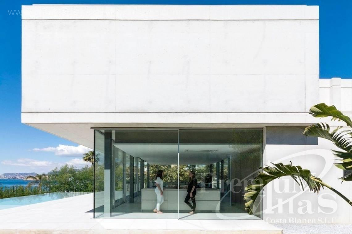 Buy modern villa with sea views in Moraira Costa Blanca - C2343 - Modern luxury villa in Moraira 4