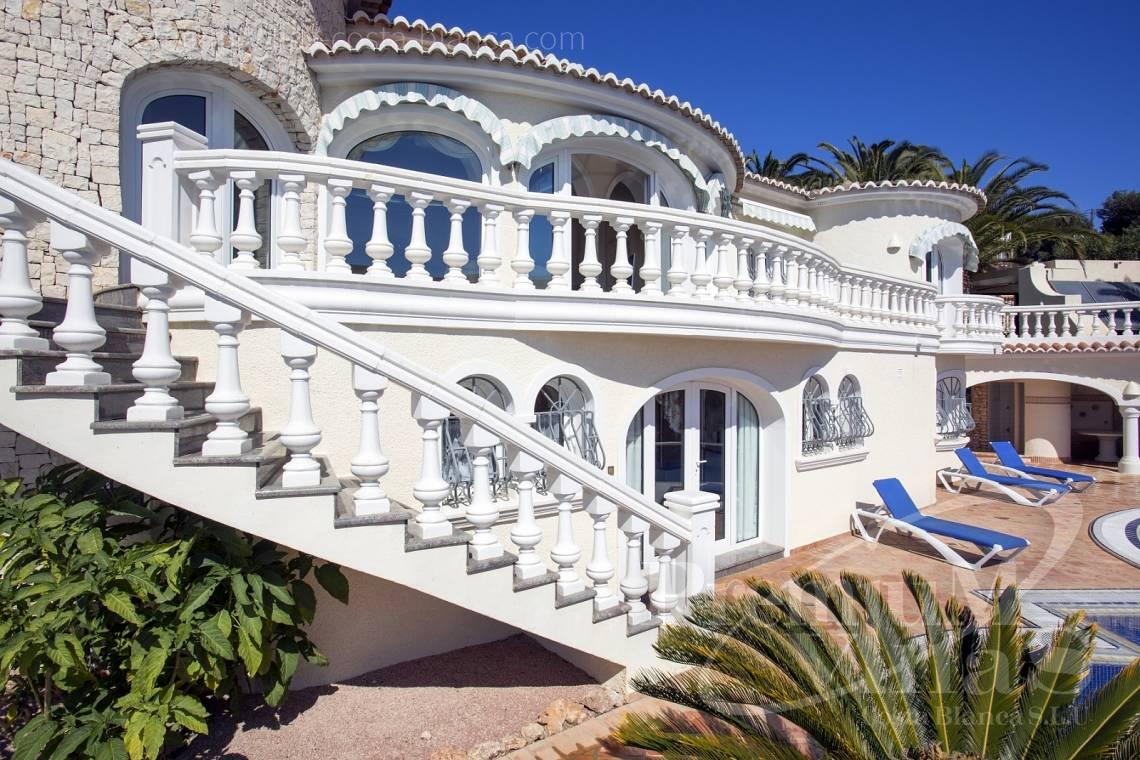 mansions for sale in Benissa Costa Blanca Spain - C1495 - Luxury villa close the sea with a guest accomodation in Benissa 4