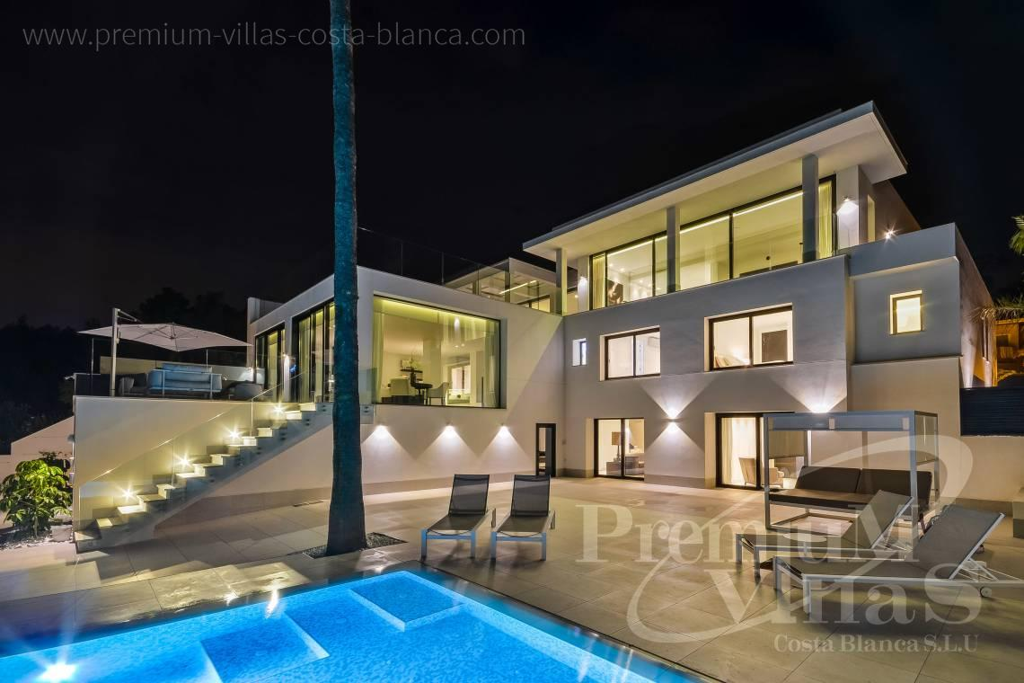 Luxury villa for sale in Panorama urbanization in La Nucia Spain - C2010 - Modern villa with large guest apartment 4