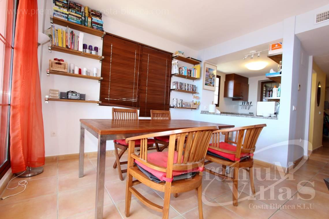 C1781 - Cozy corner townhouse with nice terraces, fantastic sea views in Altea Hills! 9
