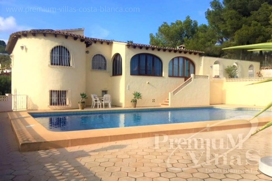 House villa for sale Calpe Costa Blanca - C2153 - Villa in Calpe with guest apartment and wonderful views 1