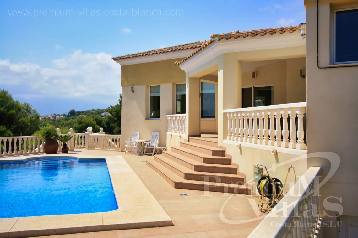 4 bedroom villa for sale in Altea Costa Blanca - C1298 - Contemporary style villa in Altea for sale with nice sea view 4