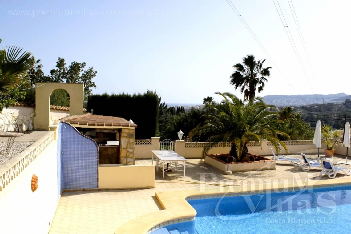Buy villas houses sea view Calpe Costa Blanca - C2153 - Villa in Calpe with guest apartment and wonderful views 29