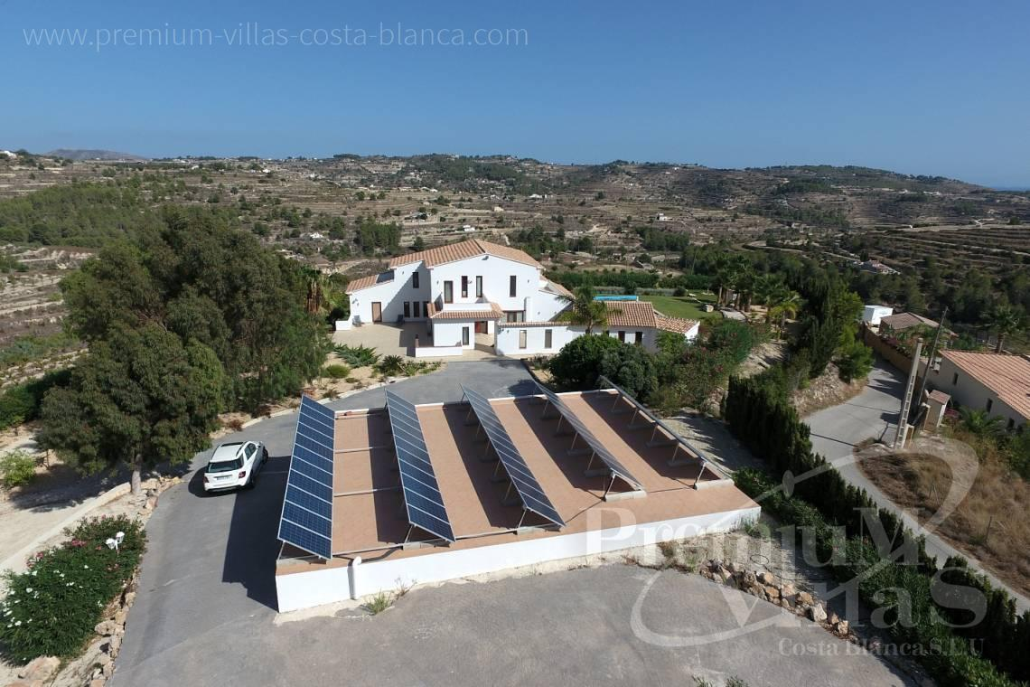 Buy 5 bedroom finca in Benissa Costa Blanca - C2417 - Amazing Finca in Benissa with a 13.000sqm flat plot and sea views 7