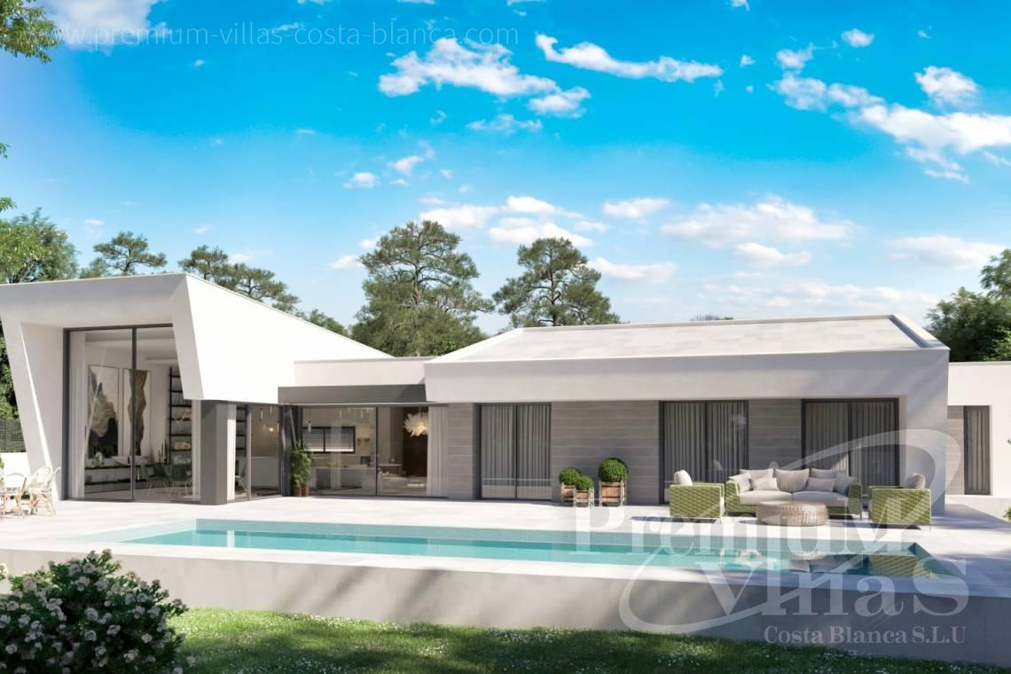 - C2441 - Modern new construction villa on one level in Calpe 1
