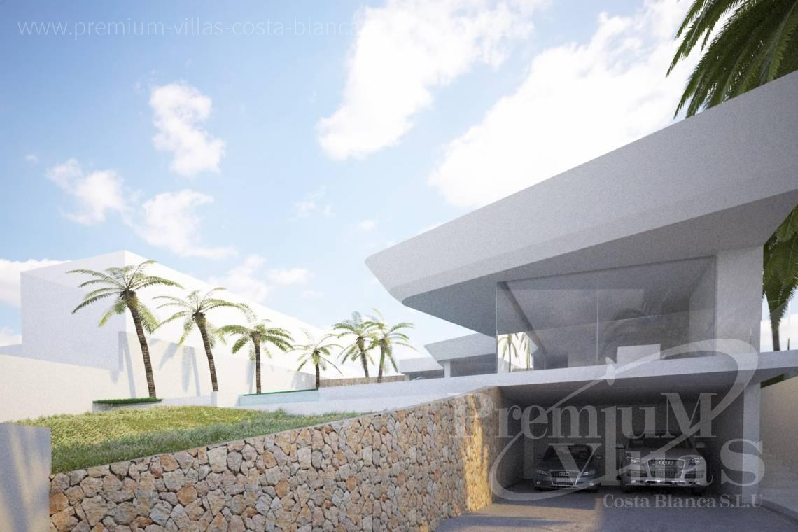 Buy modern villa in Benissa Costa Blanca - C1802 - New construction! Modern house in Benissa for sale 2