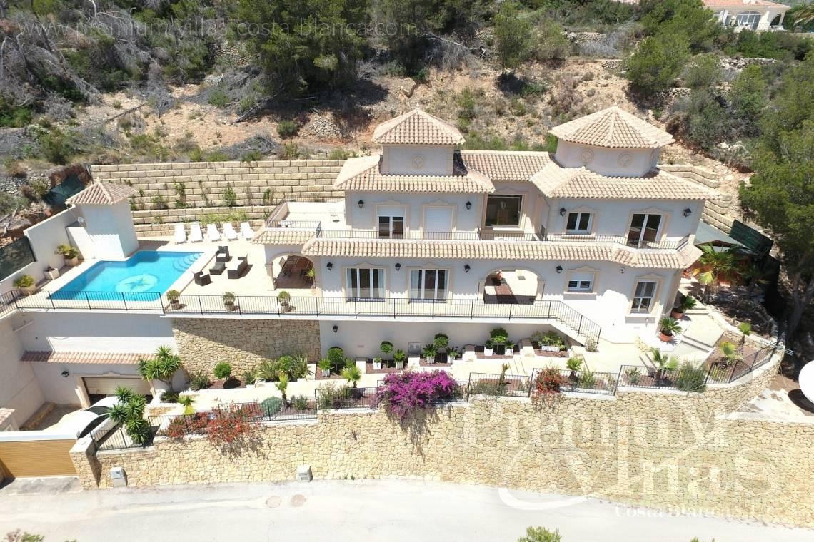 5 bedrooms house villa for sale Calpe Costa Blanca - C1776 - Villa with amazing panoramic sea views in an elevated position. 3