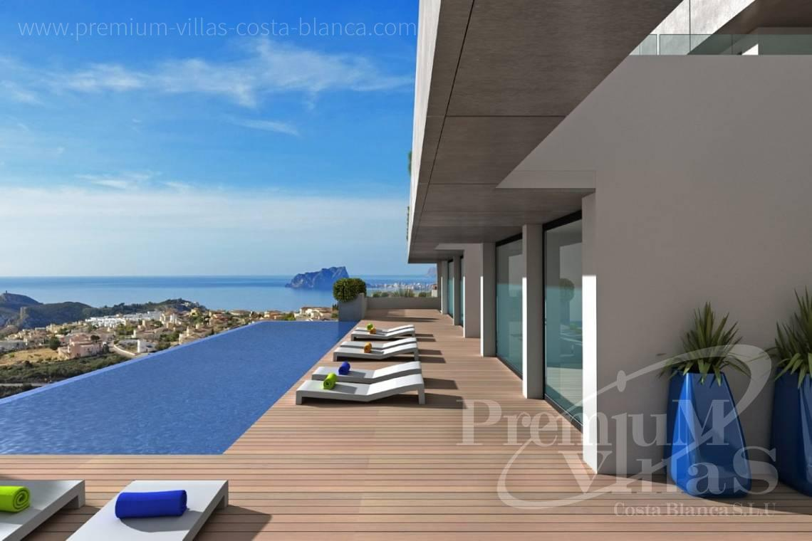 Luxury apartment for sale in Benitachell Costablanca - A0536 - Under construction: Modern and luxury appartments with large terraces 2