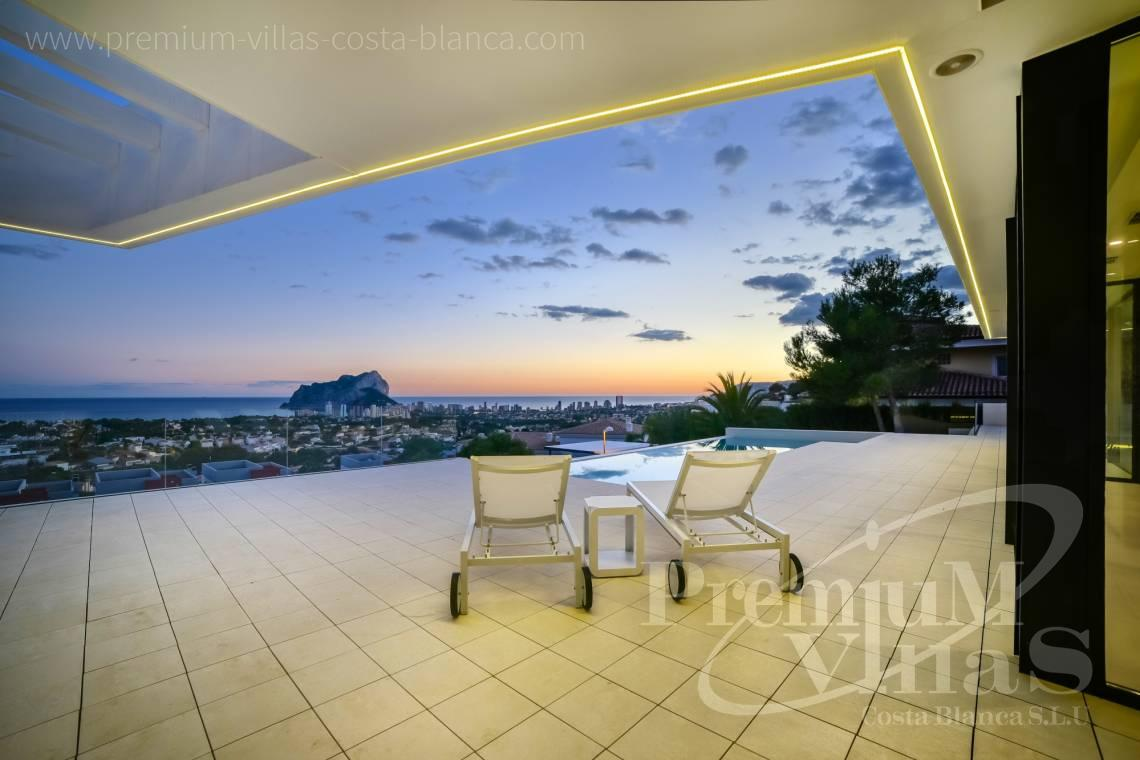 Modern villa for sale with panoramic sea views in Calpe Costa Blanca - C2080 - Modern villa for sale with spectacular sea views in Calpe 1