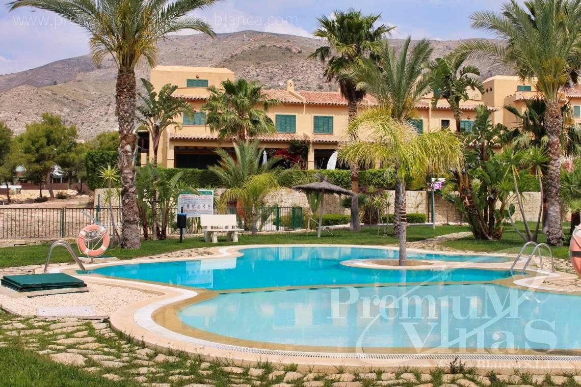 Buy 2 bedroom detached house in Finestrat Spain - C2267 - Terraced houses near the golf course in Finestrat 21