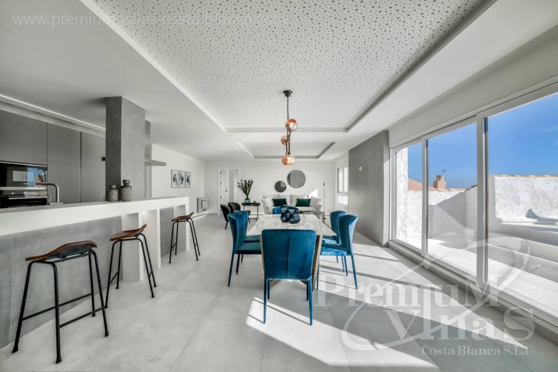 Buy modern duplex penthouse apartment sea front Altea Calpe Costa Blanca - A0585 - Modern penthouse in Altea Mascarat 5