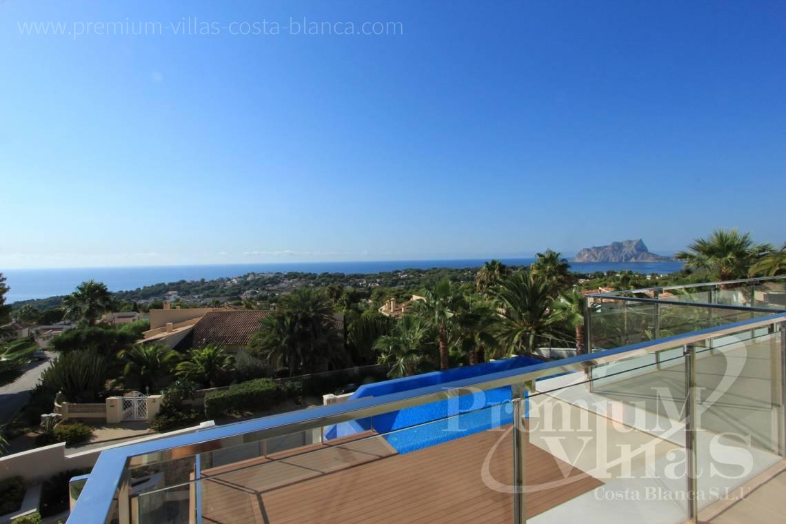 Buy luxury villa in Moraira Costa Blanca - C1637 - Modern luxury villa in Moraira with nice sea views 12