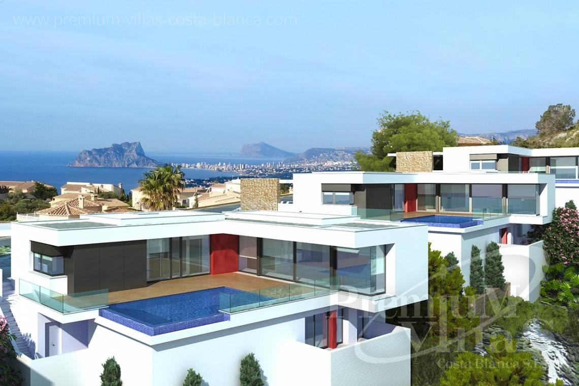 Modern villas with sea views in Benitachell Costablanca - C2025 - Modern new build with fantastic sea views 3