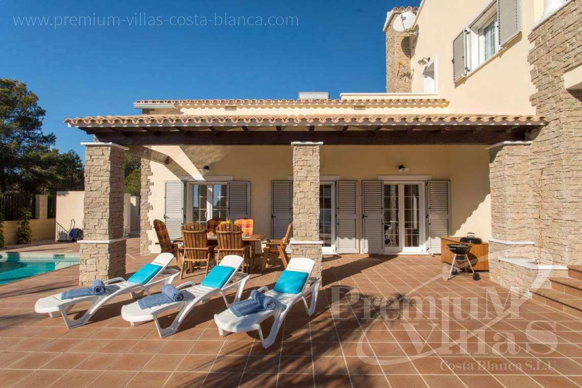 house villa for sale Altea Costa Blanca Spain - CC2205 - Rustic style villa in Altea, recently built, with beautiful views 5