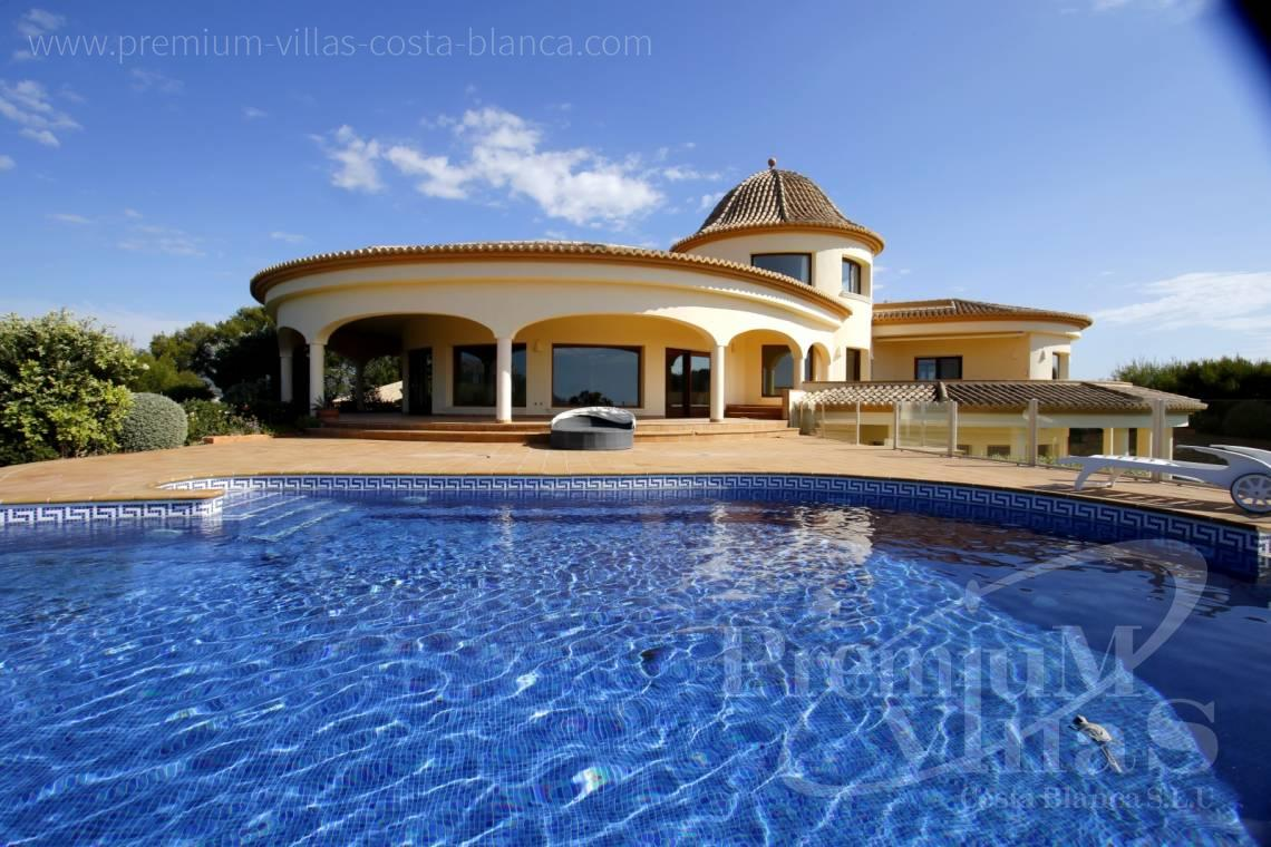 Buy villas houses sea view Calpe Costa Blanca - C2174 - Luxury mansion on 3 levels with elevator and sea views in Calpe 1