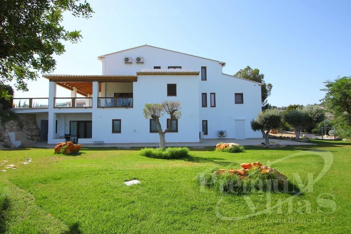 buy finca, land house Benissa Costa Blanca - C2417 - Amazing Finca in Benissa with a 13.000sqm flat plot and sea views 5