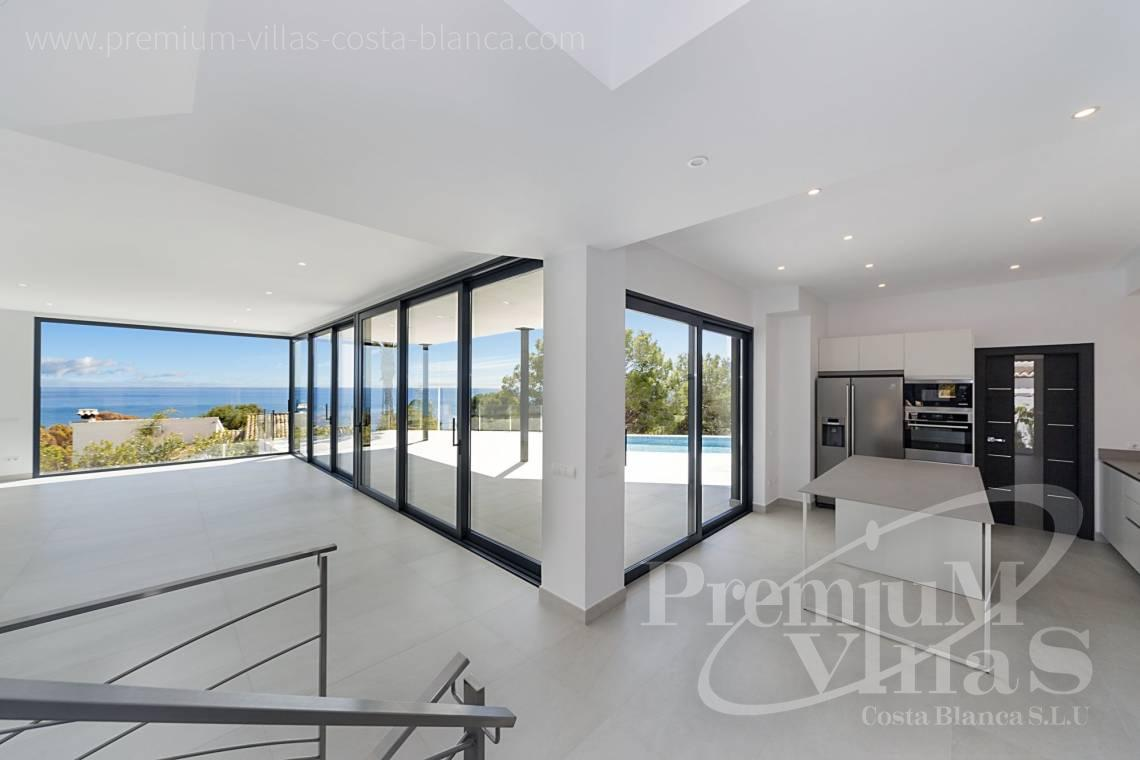 - C2374 - Luxury villa with sea views in Les Bassetes, Calpe 8