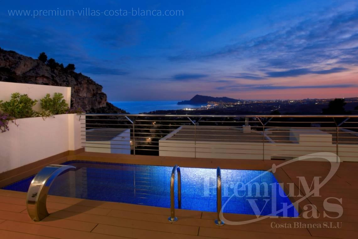 buy house villa in the Sierra de Altea Costa Blanca - C2243 - Modern and furnished villa in Sierra de Altea 19