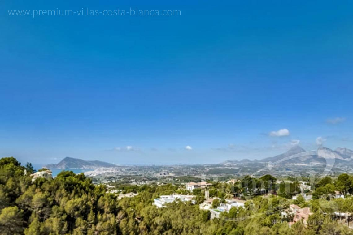 Buy 4 bedrooms villas houses with sea view Altea Costa Blanca - C1472 - Modern villas (4 units left) with sea views in Altea 26
