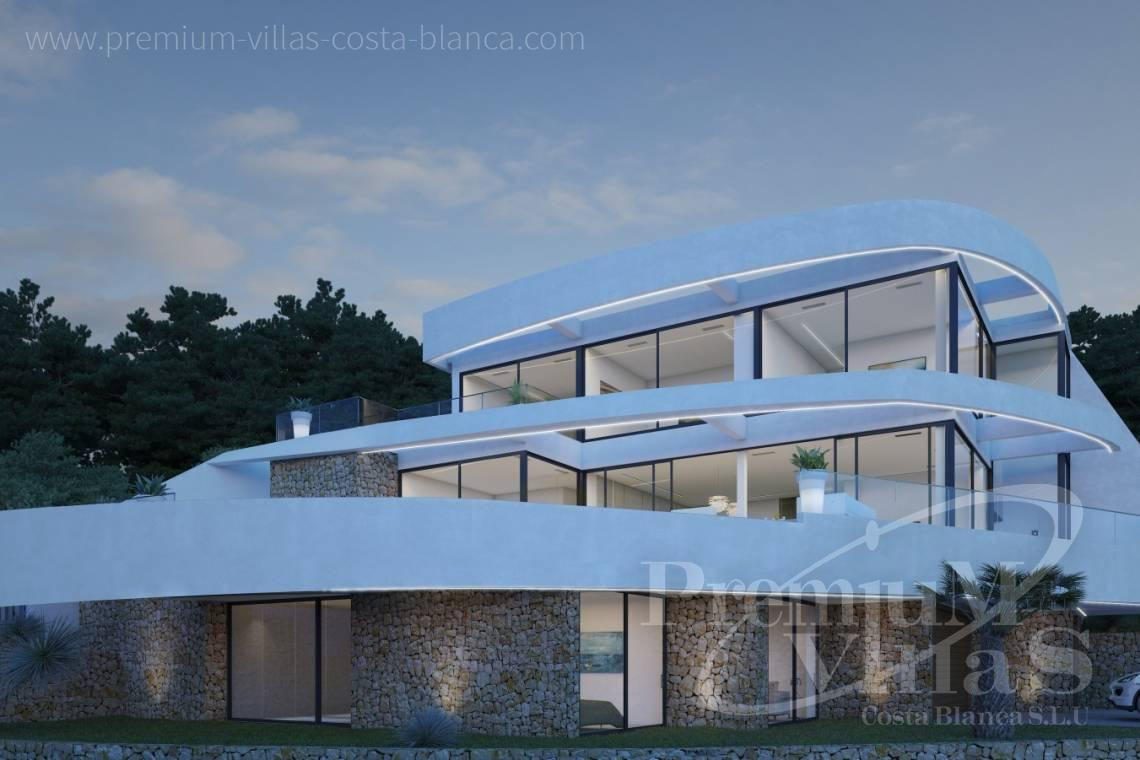 modern villas for sale Costa Blanca Spain - C1852 - Our company builds this modern and luxury villa with amazing sea views 6